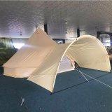 Bell-Art-Zelt-wasserdichtes Luxuxsegeltuch-Rundzelt-Strand-Zelt für das Kampieren