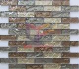 Strati di vetro di pavimentazione freddi neri della striscia del mosaico (CFS722)