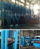 PLC 유압 격판덮개 고무 컨베이어 벨트 가황 압박 기계