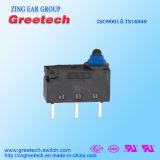 ENEC/UL는 산업 설비에 사용된 Subminiature 방수 마이크로 스위치를 승인했다