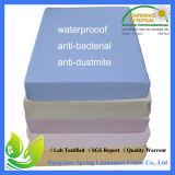 Protetor 100% impermeável Hypoallergenic superior do colchão - rainha
