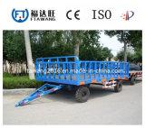 Reboque do reboque de China ATV único/eixo da exploração agrícola/reboque dobro dos eixos