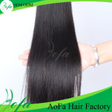7A等級100%Unprocessedのバージンの直毛の人間の毛髪の拡張