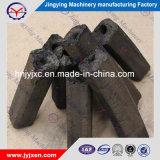 100 % de matières premières naturelles indonésienne pour la noix de coco de briquettes de charbon de bois