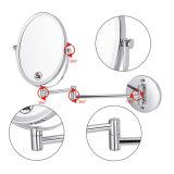 Specchio Finished degli accessori della stanza da bagno del bicromato di potassio fissato al muro registrabile