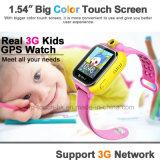 inseguitore portatile della vigilanza di GPS astuto dei capretti 3G/WiFi/bambino con la macchina fotografica D18