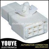 cable connecteur 6p en plastique automobile électrique mâle pour le véhicule de Toyota