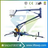 10m 12m Towble Antena Móvil eléctrico elevador brazo hidráulico