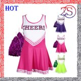 2015 Hot Sell Cheerleading Sublimation Uniform, Girl Dress School Cheerleader