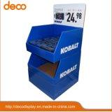 Présentoir de sol matériel Bacs support carton ondulé pour vente au détail
