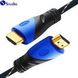 Kabel HD HDMI van de Steun van de hoge snelheid de Actieve Mannetje aan Mannetje HDMI 3D 4K Ultra voor PS4 met Ethernet tot 15m