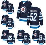 Jets de Winnipeg Matthieu Perrault Jack Roslovic Dmitry Kulikov Chandail de hockey