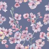 Respirare la tessile stampata molle del tessuto del lenzuolo della tessile della casa del raso