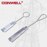 Morsetto dell'ancoraggio dell'acciaio inossidabile 201 per cavo di telecomunicazione