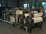 proteção ambiental Custo Elevado desempenho do filtro prensa de correia dupla