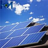 glace solaire ultra claire d'arc d'utilisation de panneau solaire de 3.2mm