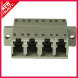 LC aan LC Multimode Optische Adapter van de Vezel van 4 Kernen Plastic