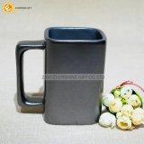 Taza de café de cerámica cuadrada de la sublimación