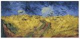 カラスが付いている有名な芸術家オイルPaintingwheatfield、Vincent Van Gogh