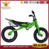 선물 자전거를 위한 특정 주문을 받아서 만들어진 강철 나무로 되는 아이들 아이 균형 자전거 또는 균형 자전거