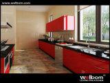 Welbomの光沢度の高いカスタマイズされた現代食器棚