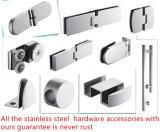 SUS304ステンレス鋼のHrdware半フレームのシャワー室のシャワーのCubucle 8mmガラス
