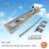 Indicatore luminoso di via solare esterno dell'interno chiaro senza cordone attivato movimento di Lamparas Solares del giardino del sensore LED