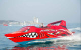 最高速度のアルミニウムジェット機のボート