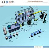 装置10tonをリサイクルする油純化器の産業廃棄物オイル