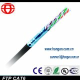La communication FTP Moisture-Proof CAT6 Câble LAN en stock