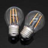 Lâmpada do vintage do filamento do bulbo 220V 110V do diodo emissor de luz Edison de E27 E14
