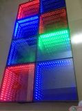 심연으로 다시 3D 마술은 3D 도와 LED 단계 빛과 벽돌 바 DJ 댄스 플로워 도와 당을 타일을 붙인다