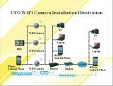 WiFiのカメラP2pの煙探知器無線IPのカメラDVRデジタルのビデオレコーダーのモニタ