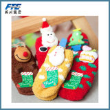 Peúgas do Natal do velo/meia para crianças