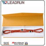 서류상 보석 선물 보석 마분지 수송용 포장 상자 장방형 반지 팔찌 귀걸이 상자 (Ys0651)
