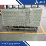 Porta de chuveiro quadrada de vidro temperado