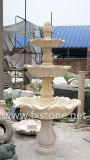 Напольный фонтан воды