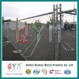 Горяч-Окунутая гальванизированная загородка звена цепи временно/загородка звена цепи металла