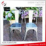 中国の黄色い耐久の絵画宴会の鋼鉄椅子(TP-40)