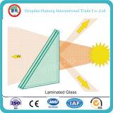 verre feuilleté de 4-52mm avec le certificat ISO/Ce