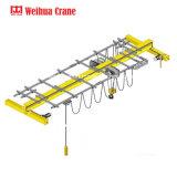 Pont roulant de poutre simple électrique d'élévateur de 5 tonnes
