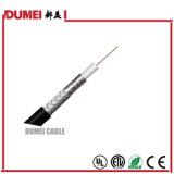 50ohm коаксиальный кабель фабрики 5D-Fb для спутникового телевидения