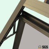 Qualitäts-Aluminiumprofil-Markisen-Fenster mit Verlegenheits-Scheibe, Aluminiumfenster, Aluminiumfenster, Fenster K05020