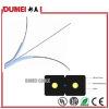 Câble de fibre optique d'intérieur de Gjxh FTTH de faisceau de l'usine 1