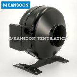 Ventilador de conducto circular en línea de 4 pulgadas 100 para ventilación de escape