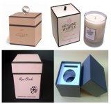 カスタム印刷紙堅いボックスギフト用の箱の蝋燭ボックス