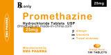Le chlorhydrate de prométhazine de médecine de Westren marque sur tablette la médecine Pharma pour l'être humain