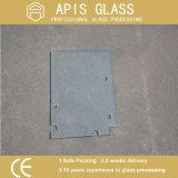 vetro temperato di /Bathroom glassato portello di vetro di vetro Tempered di 10mm Frameless con la tacca/il ritaglio/scanalatura/scanalatura/luoghi di perforazione