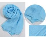 Foulard en éponge en mousseline de soie Royal Blue Multifunctional