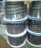 Профессиональная плетеная набивка волокна графита PTFE/Teflon с большим ценой